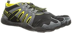 Body Glove Men's 3T Warrior Water Shoe,Black/Yellow,10 M US