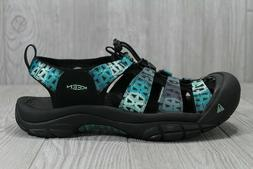 40 New Keen Men's Newport Black Blue Water Shoes Hiking Sand