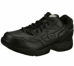 Slip Resistant Work Skechers 77032 Black Shoes Memory Foam M