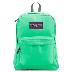 JanSport 25L SOLID SUPERBREAK SEAFOAM GREEN BackPack Book Ba