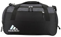 adidas Squad Duffel Bag, Black Jersey/Black, One Size