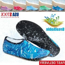 Adult Kid Water Shoes Barefoot Beach Skin Socks Quick-Dry Aq