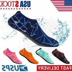 Adult Kid Water Shoes Barefoot Skin Socks Quick-Dry Aqua Bea
