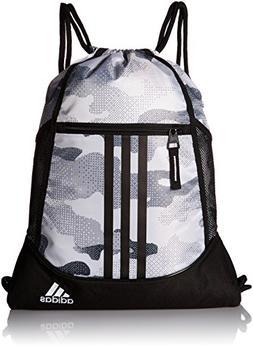 adidas Alliance II Sack Pack, One Size, Data Camo White/Blac