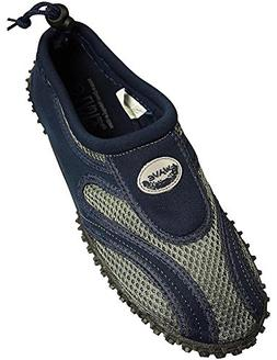 The Wave - Mens Aqua Shoe, Navy, Grey 37136-9DUS