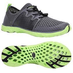 ALEADER Aqua Water Shoes for Men, Comfortable Tennis Walking