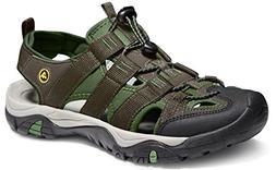 ATIKA AT-M107-GRN_Men 7 D Men's Sports Sandals Trail Outdoor
