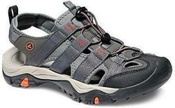 ATIKA AT-M107-GRO_Men US 8  Men's Sports Sandals Trail Outdo