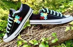 Autism Awareness Clothing/ Shoe Converse All Star , All size