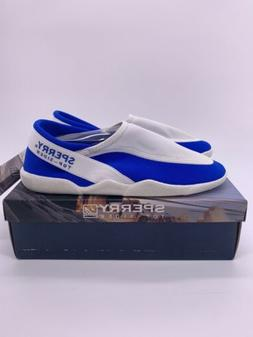 Sperry Beach Walker Water Shoes Royal Blue / White New In Bo