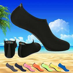 Best water shoes Aqua socks barefoot fold and go Shoes Fin S