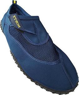 NORTY - Mens Big Aqua Water Shoe, Navy 39451-15D US