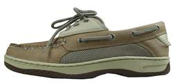 Sperry Mens Billfish 3-Eye Boat Shoe, Tan/Beige-13W US