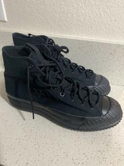Converse Bosey MC High Top Combat Hiking Shoes Triple Black