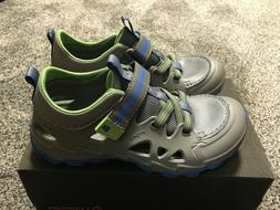 Merrell Boy Shoes Size 12 ML Hydro 2.0 Grey Blue Water Shoes