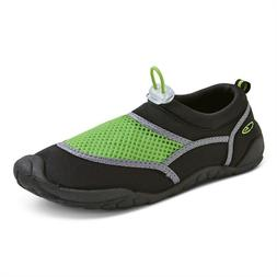 C9 by Champion Boys' Black & Green Mesh Peter Water Shoes, S