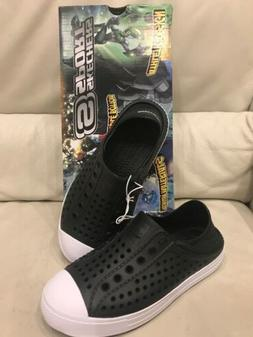 Skechers Boys' Guzman Steps Aqua Surge Molded Slip On Shoes