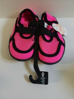 BRAND NEW TODDLER GIRLS SIZE 5-6 WONDER NATION WATER SHOES