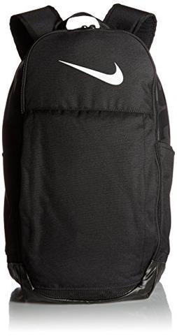 New Nike Brasilia  Training Backpack Black/Black/White nkba5