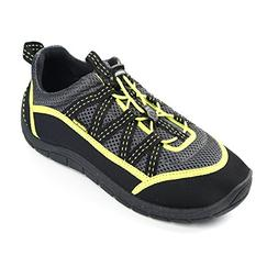 Northside Mens Brille II Water shoe,Grey/Lime,9 M US