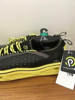 Champion C9 Ernesto Water Shoes Sneakers Boys Black Yellow N