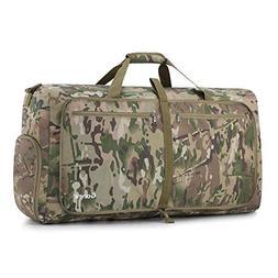 Gonex Camp Duffle Bag, Packable Lightweight Travel Duffel Wa