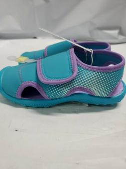Cat & Jack  Girls Turquoise/Purple Water Shoes - NWT XL 11/1