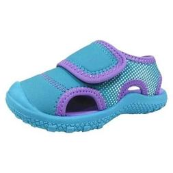 Cat & Jack Toddler Girls Turquoise/Purple Water Shoes Fisher