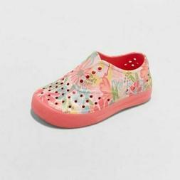 Cat & Jack Toddler Girls Water Shoes Jinnah Sneakers Coral S