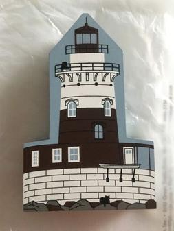 Cat's Meow Robbins Reef Lighthouse New York 1971. John Kate
