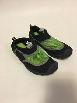 Champion Black/Lime Green Water Shoes Size S 13/1 Kids