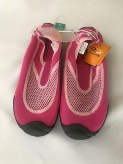 Champion Water Shoes C9, Girls' Slip On  Size M 2/3 pink