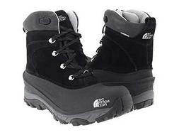The North Face Boys' Chilkat II Boot - black/griffin gray, 1