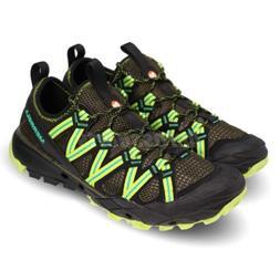 Merrell Choprock Dusty Olive Black Men Outdoors Trail Hiking