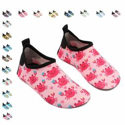 CIOR Fantiny Kids Water Shoes Boys Girls Swim Shoes Quick-Dr