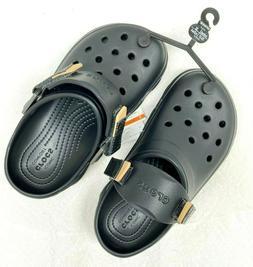 Crocs Classic terrain Clog/Slip on Casual Water shoes, Black