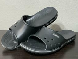 Crocs Crocband II Slide Black Sandals Beach Water Shoes Clog