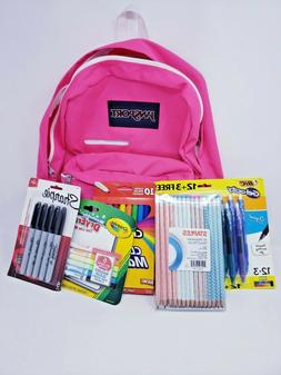 JanSport Digibreak Laptop Backpack Prism Pink 15in Back To S