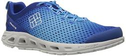 Columbia Men's Drainmaker III Water Shoe, Azul/White, 12 D U