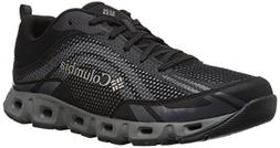 Columbia Men's Drainmaker IV Water Shoe, Black, lux, 9.5 Reg