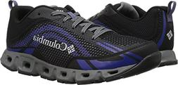 Columbia Women's Drainmaker IV Water Shoe, Black, Grey ice,