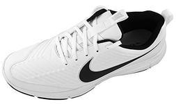 Nike Men's Explorer 2 Golf Shoes Wide, White/Black, 11.5 W U