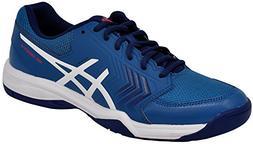 ASICS Men's Gel-Dedicate 5 Tennis Shoe  US, Azure/White)