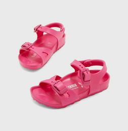 Girl Birkenstock RIO EVA Pink Sandals Water Shoes Little Kid