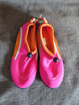 Girl's West Loop Pink/Orange Water Shoes Aqua Shoes Choice S