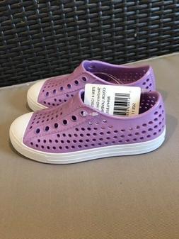 SKECHERS Girls Eva Slip On Purple Beach Water Shoes Size 11