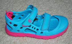 Skechers Girls' Guzman 2.0 Swirly Brights Pink Water Shoes S
