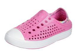 Skechers Girls' Guzman Steps Sandcastle Dreams Water Shoe 30