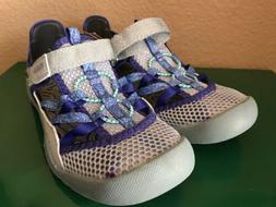 Girls M.A.P. Motion Adventure Play Brook Water Shoe Silver P