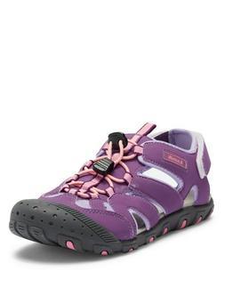 Kamik Girls' Oyster Waterproof Water Shoes Purple, Big Kid S